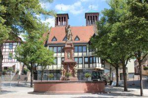 Bensheim: Marktplatz