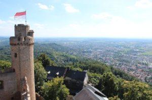 Ausblick vom Auerbacher Schloß