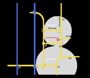 Anfahrtskizze (regional)